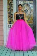 Pink Tulle Skirt Wedding 014  2