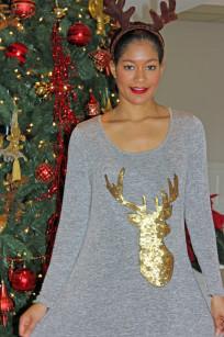 reindeer dress 064 reindeer dress