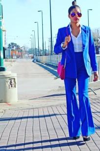 Royal Blue Pants Alex Malay 2