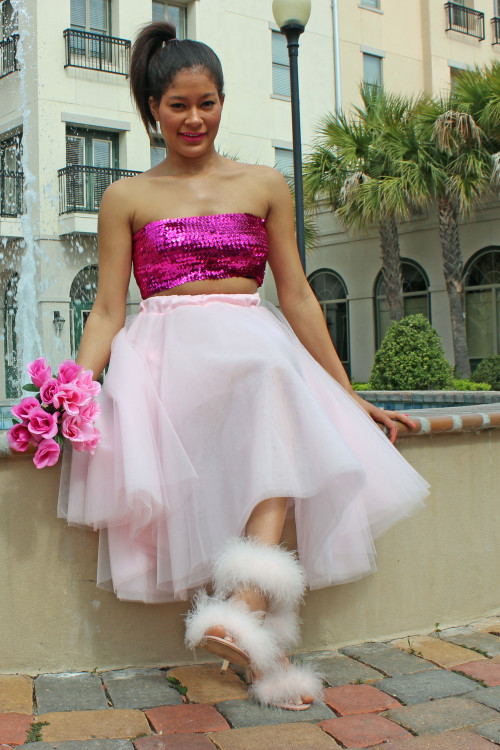 pink tulle skirt 020 Alex Malay