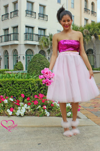 pink tulle skirt 024 Alex Malay 2