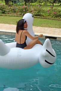 swim wear pool swan toy 037 Alex Malay