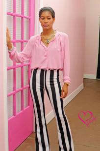 black and white stripe pants 002 Alex Malay