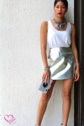metallic skirt -2