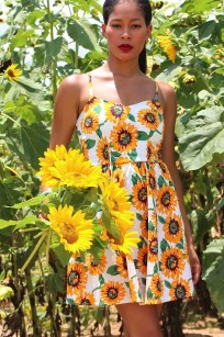 sunflower dress 10-2