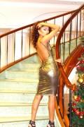 24k gold dress