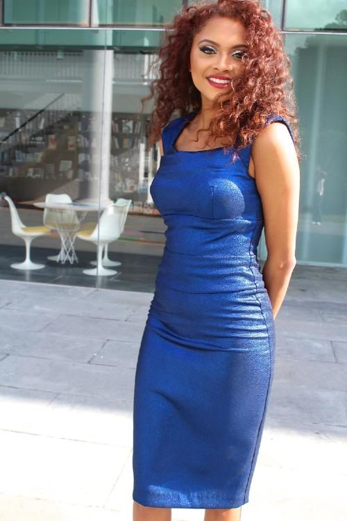 cobalt blue dress 2