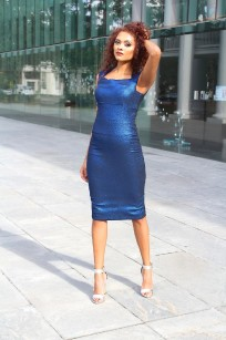 cobalt blue dress 5