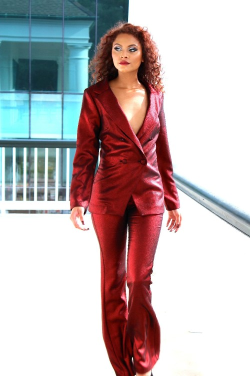 red pant suit 4